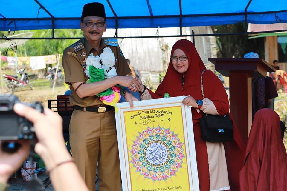 Hendrajoni Umrohkan Penggagas Rumah Tahfidz Habibah Tapan