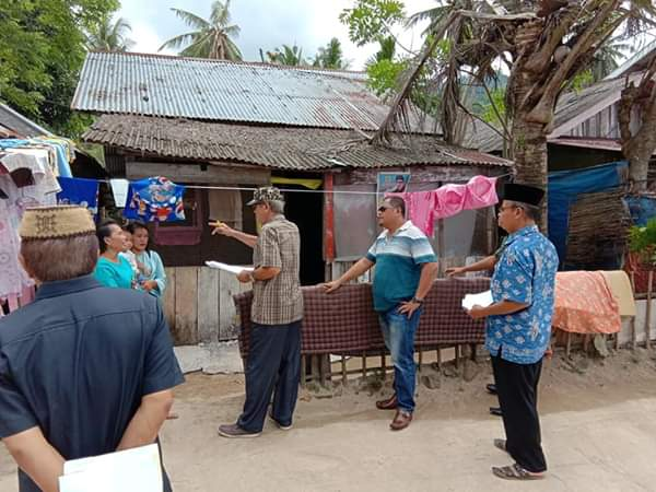 Jelang peneriman bantuan Rusus, Tim Kabupaten Pessel lakukan pendataan