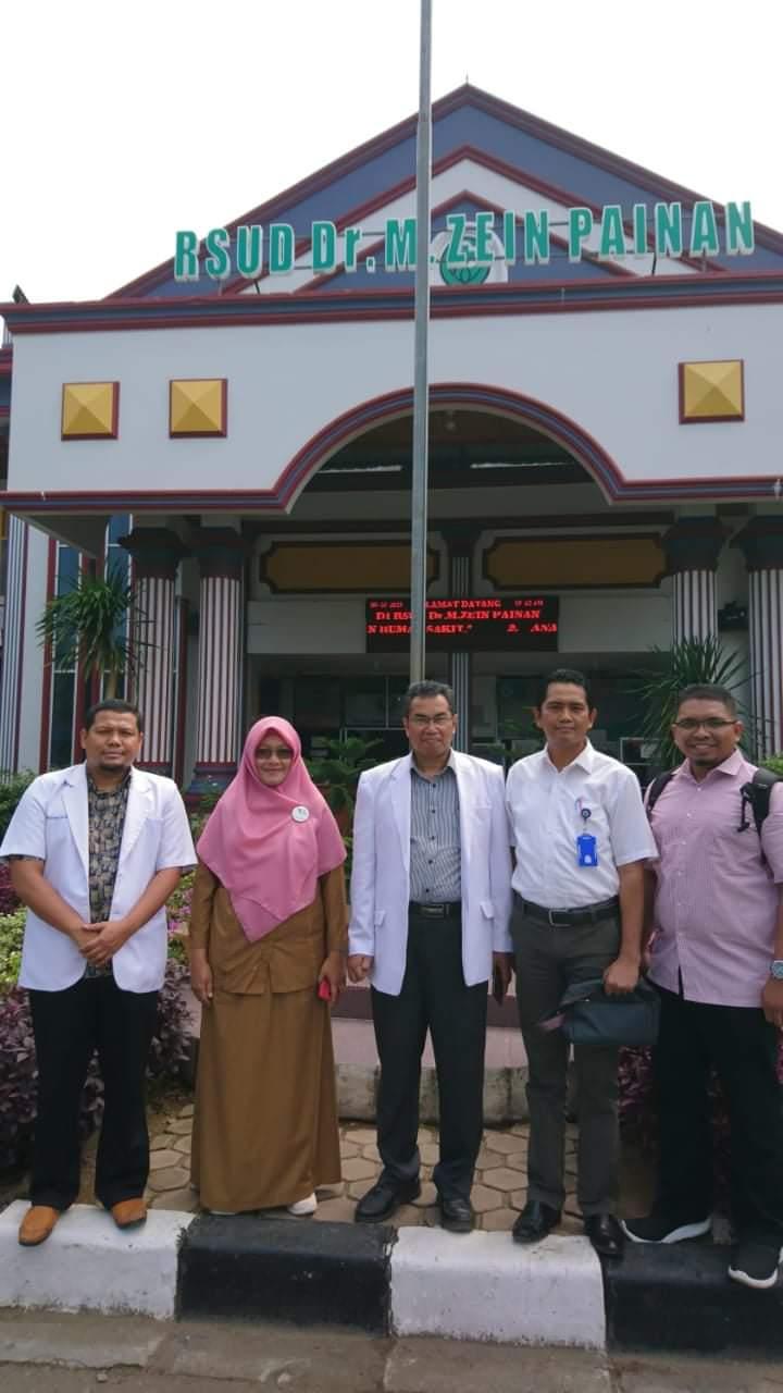 Ketua Bagian Ilmu Penyakit Dalam Fakultas Kedokteran Unand Kunjungi RSUD Dr.M.Zein Painan