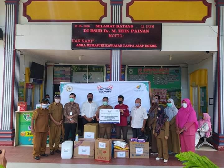 Satgas Bencana BUMN Nasional Serahkan Bantuan APD Untuk Tenaga Kesehatan
