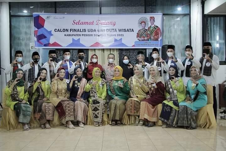 Calon Finalis Uda-Uni Duta Wisata Kabupaten Pesisir Selatan 2021 Siap Ikuti Seleksi