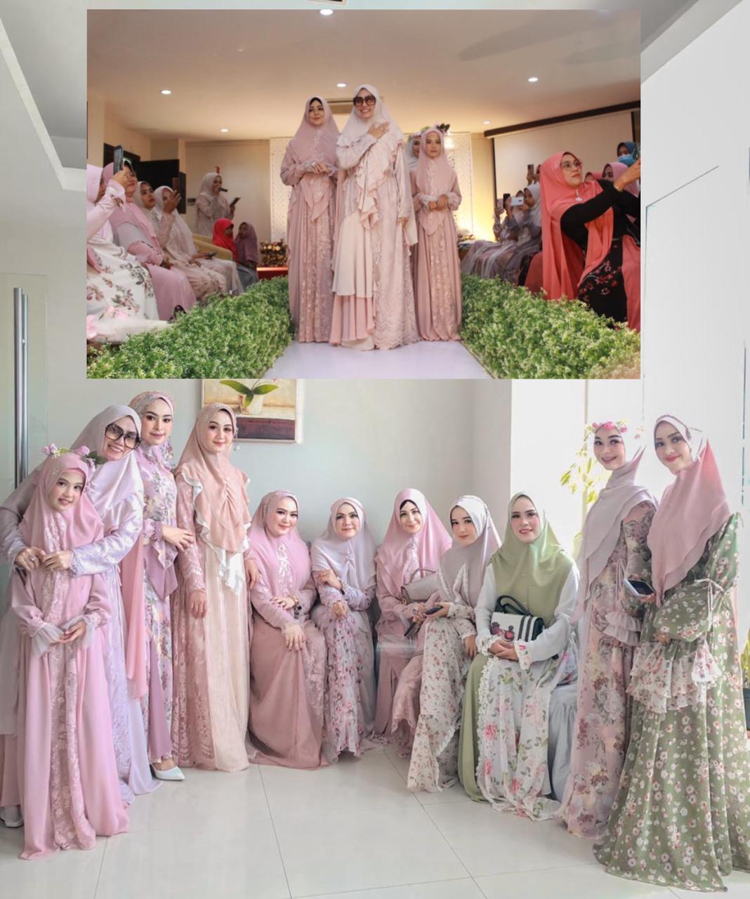 Dari Painan Go Internasional, Sepuluh Desain Terbaik Fashion Show Syari By Sri Kumala Dewi Menjadi Trending Topic
