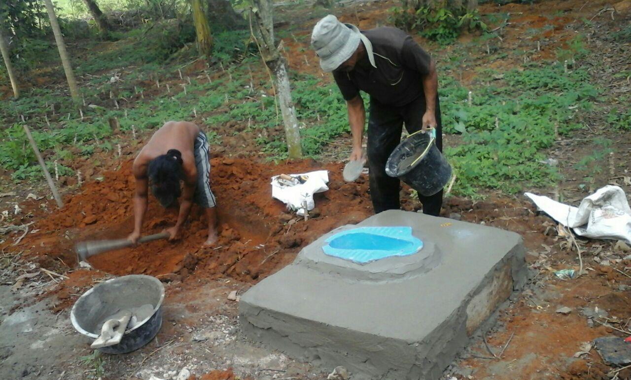 Semua Nagari Programkan Bantuan 50 Unit Jamban Per Tahun di Kecamatan Batangkapas