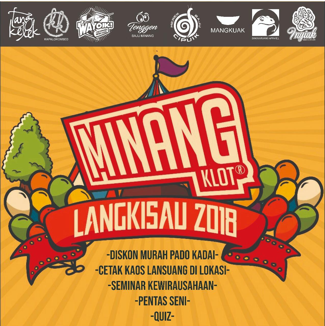 Asosiasi Pengusaha Kaos Minang Bakal Hadir Di Pessel Dalam Menyemarakan Festival Langkisau Tahun Ini