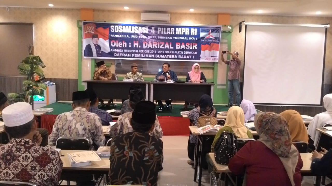 H.Darizal Basir, gelar sosialisasi 4 pilar MPR RI bersama Penggurus Muhammadiyah Pessel