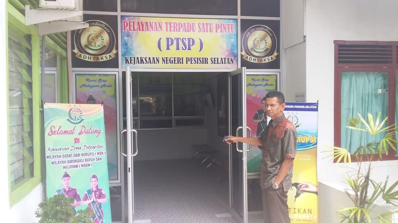 Berikan pelayanan Optimal, KEJARI Pessel buka pelayanan PTSP satu pintu