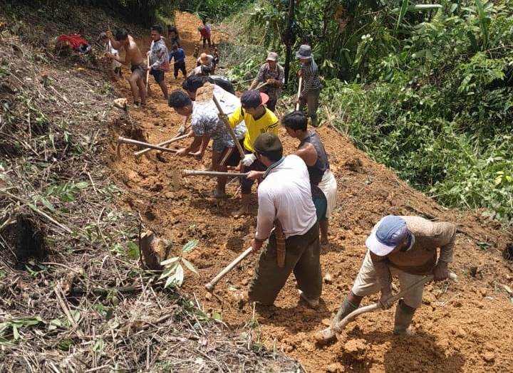 Nagari Salido Saribulan Kecamatan IV Jurai Pessel budayakan goro secara swadaya masyarakat