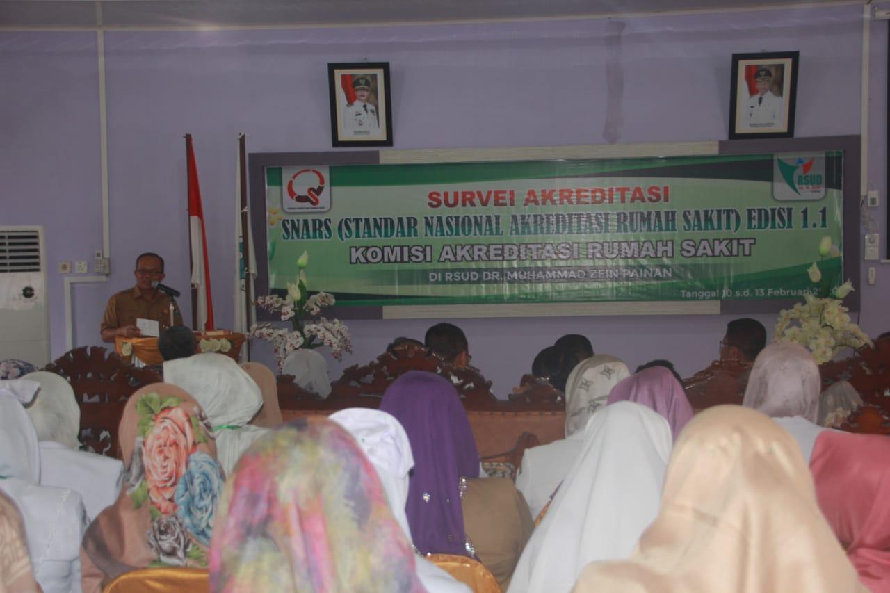 Tim KRAS Datangi RSUD M.Zein Painan Untuk Survey Akreditasi Standar Nasional
