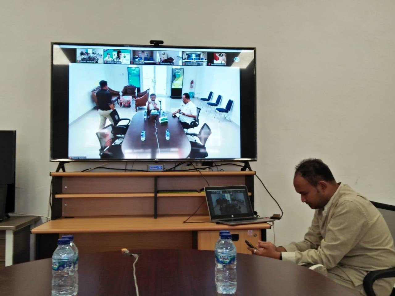 Gubernur Sumatera Barat akan lakukan Vidcon Perkembangan Penanganan Covid-19 dengan Bupati/ Walikota