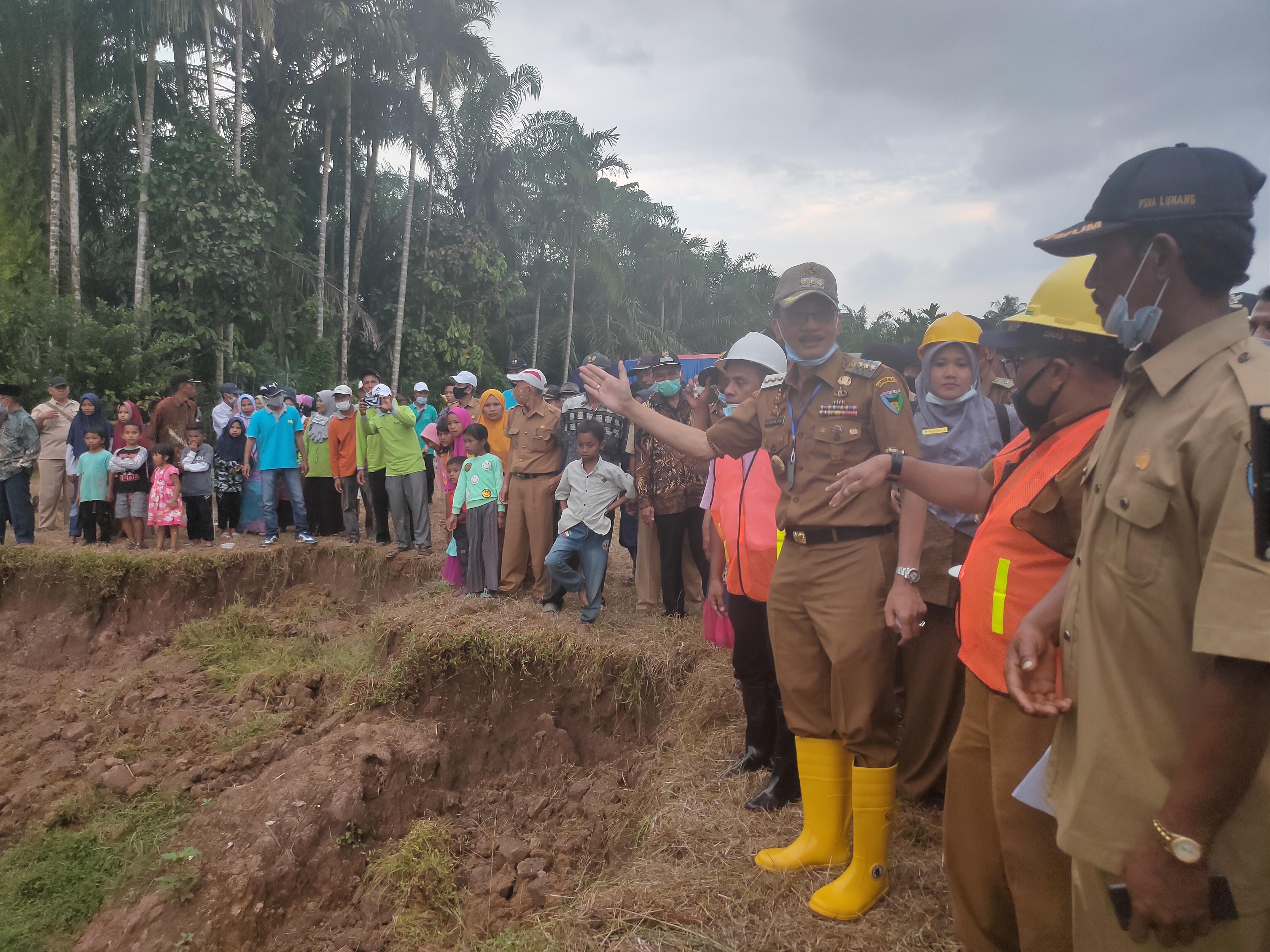 36 Miliar Anggaran Pusat Digelontorkan Untuk Perbaikan Jaringan Irigasi di Pessel