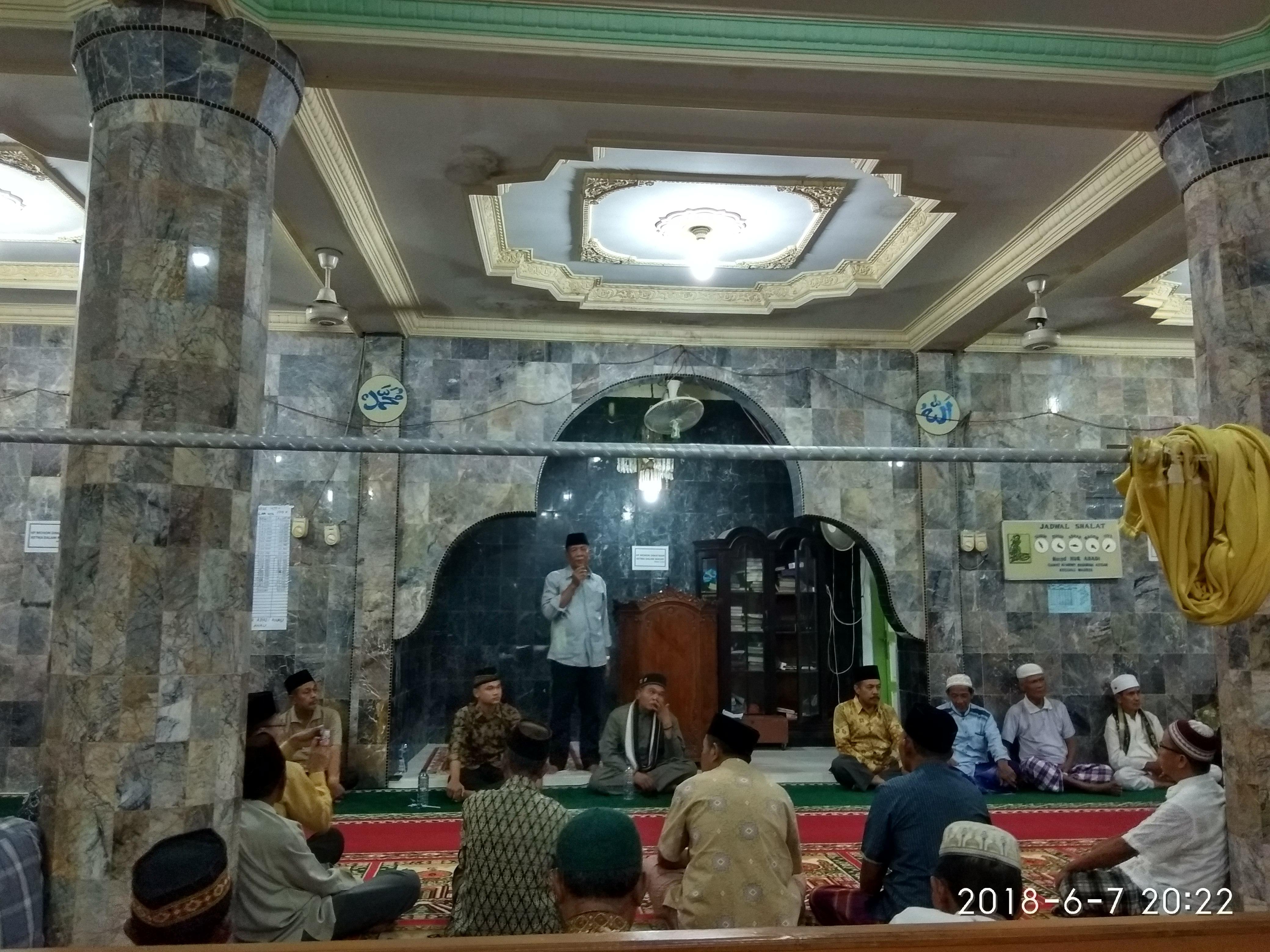 Safari ramadan Khusus Wabup di Cerocok Anau : karakter Anak Harus Dibentuk