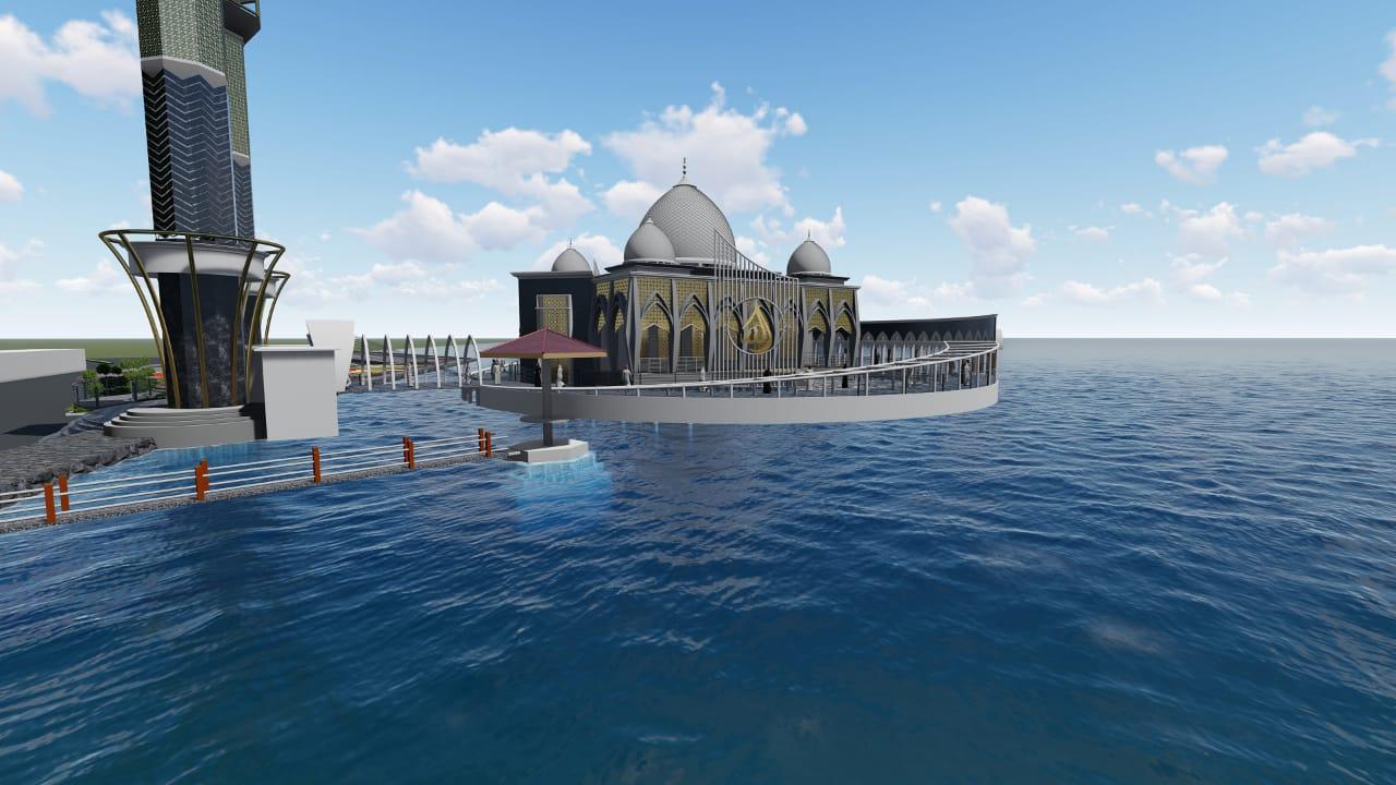 Pemerintah Kabupaten Pesisir Selatan - Pembangunan Masjid