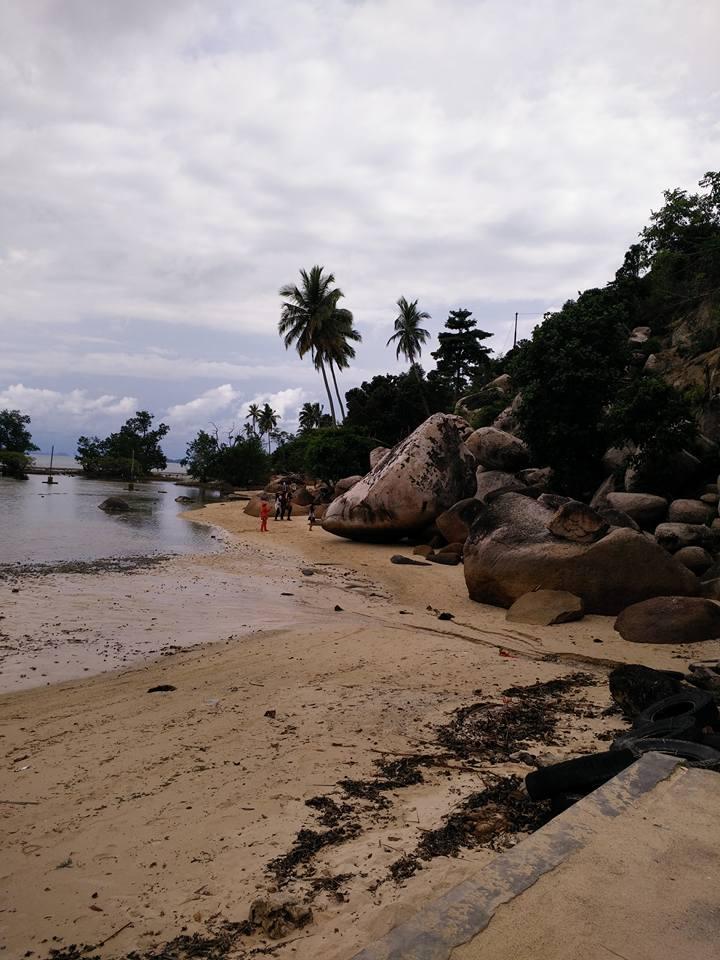 Pemerintah Kabupaten Pesisir Selatan Pesona Objek Wisata Pantai Batu Kalang Jadi Magnet Wisatawan