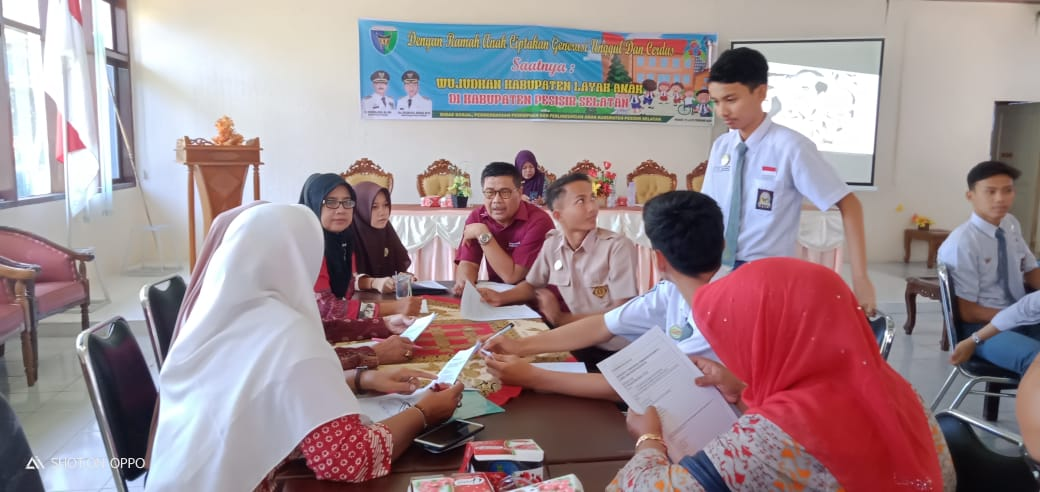 Diskominfo Ikuti Rapat Persiapan Kabupaten Layak Anak
