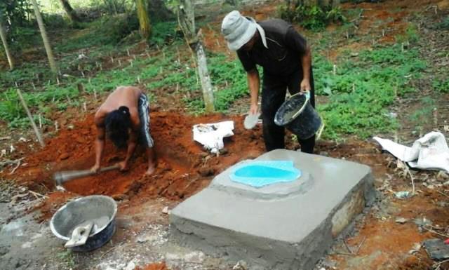 Dukung ODF Nagari Mandeh Anggarkan Pengadaan Jamban Dari Dana Desa